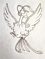 Project Fakemon: Mega Altaria by XXD17
