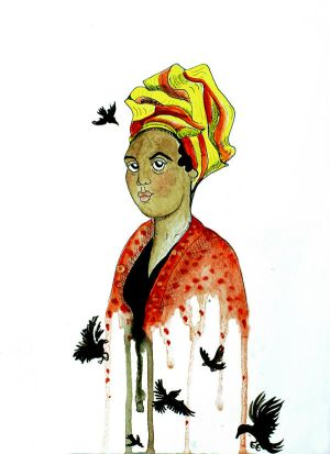 NOLA Watercolors: Marie Laveau by Pureblackmagik