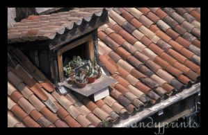 Roof tiles by sandyprints