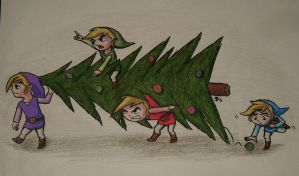 How the Four Swords Stole Christmas by DarthJader11