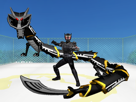MMD - Ryuga's set to kill by Zeltrax987