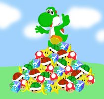 Yoshi by Love-And-Destroy