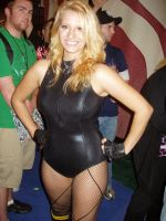 Black Canary cosplay nycc 2010 by lenlenlen1