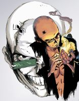 Spider Jerusalem by kidbrainer