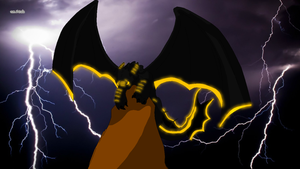 iggy-in the storm by phoenix-R-fireheart