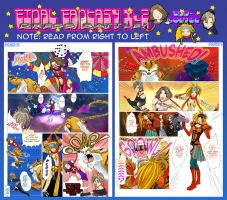 Final Fantasy X-2 - doujinshi by Misteen