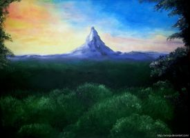 The Lonely Mountain by Aronja