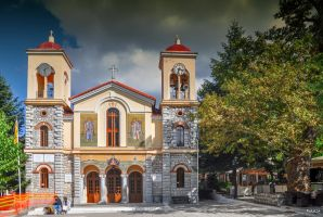 Church in Greece by Rikitza