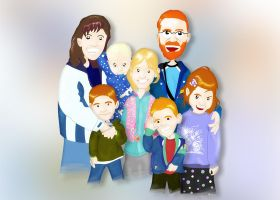 Mister IQ Family by Platynews