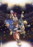 Kingdom Hearts by sarrus
