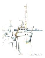 Tugboat downtime by RicArtt
