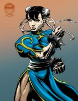 Chun Li SF2 - FC Commish by EryckWebbGraphics