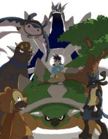 Meet my Sinnoh team by tunaniverse