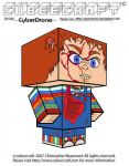 Cubeecraft - Chucky 'Ver2' by CyberDrone