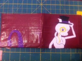 Duct Tape Wallet: Fancy Mewtwo by areica