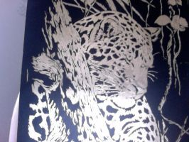 My First Engraving Art Thing by AmberTheAlchemist