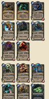 Hearthstone - Some [Rogue] Card Concepts by EmBeRNaGa