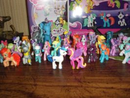 My Pony figure collection 1 by ShitAllOverHumanity