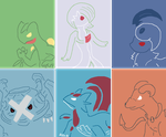 Pokemon Team Request 1 by Dianamond