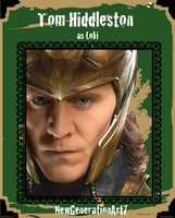 Tom Hiddleston as Loki CTC Version 2 by NewGenerationArt7