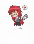Gift of Grell by ichirusluver