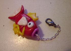 Magikarp Keychain by delicioustrifle