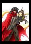 Vincent Valentine and Luna by eldenjohn