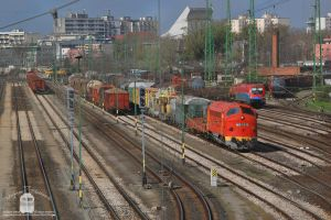 M61 019 resting in Gyor freight station by morpheus880223