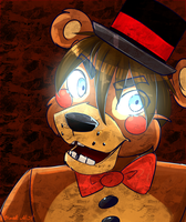 Toy Freddy by BlackMistOriginal