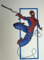 Perler Art: Spider-Man by thewiredslain