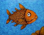 Pineapple fish by evilcrowbar