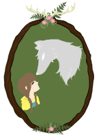 Wolf and Child by Lithium-Memoria