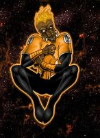 Agent Orange: Larfleeze by north-green
