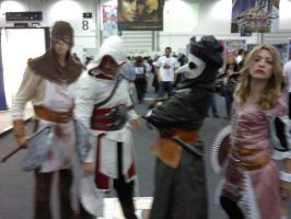 assassins creed cosplayers by myistic