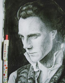 Crimson Peak: Sir Thomas Sharpe (Tom Hiddleston) by YOU-cee