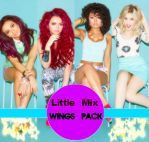 Little Mix Wings Photopack + PNG by LouiseAndMacky