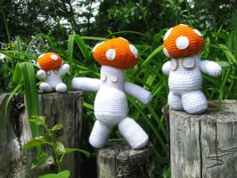 Mushroom Men by Allison-beriyani