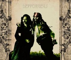 Jack Sparrow and Sirius Black by Depporgeus