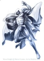 Moon Knight by Dedefox