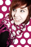 Pink Polka Dots by xmysterydance