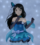 Blue Butterfly by MiriamP