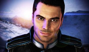 Hey Shepard by mandyalenko