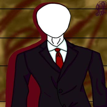 Slenderman speedpaint by Magickyg