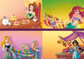 Disney_Princess_mix4_Scuderi by Skudo