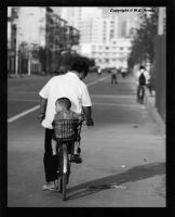 Father and Son        Shanghai by WEArnold