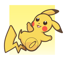 Pokemon: Pikachu Charm Design by StarryTumble