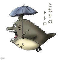 Totoro of the forest by camds