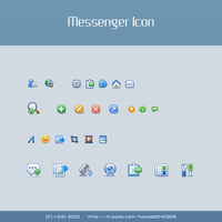 messenger icon demo by aipotuDENG