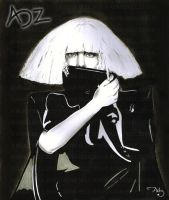 Lady Gaga: The Fame Monster by adzbell