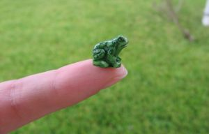 Little Plastic Frog by kirroyale